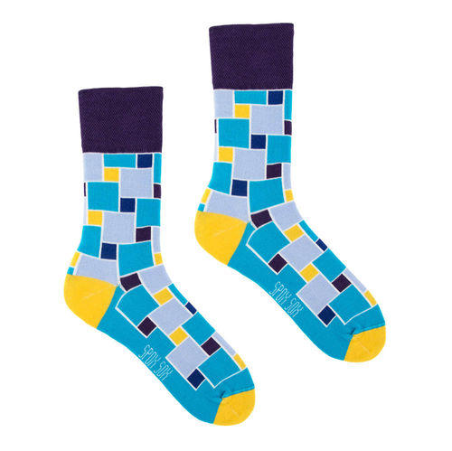 Abstraktion Spox Sox Socken