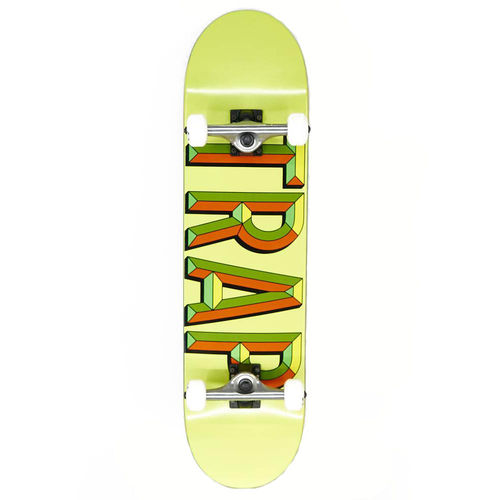"Trap Komplett Skateboard IRON LOGO 7.6"" Lemon"