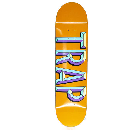 "Trap Komplett Skateboard IRON LOGO 7.6"" Orange"