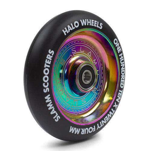 Slamm 110mm Neochrome Halo Deep Dish Wheels